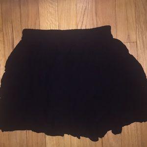 Basic black brandy Melville skirt